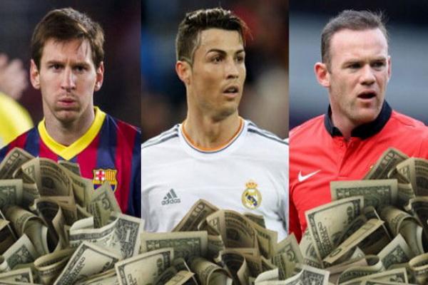 นักฟุตบอล รวยที่สุดในโลก