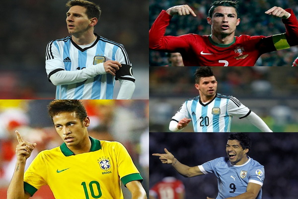 เต็งดาวซัลโว ฟุตบอลโลก 2018