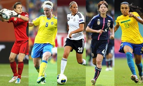 นักฟุตบอลหญิง สวยที่สุดในโลก