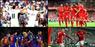 ทีมที่ยิงประตูมากที่สุดในยุโรป